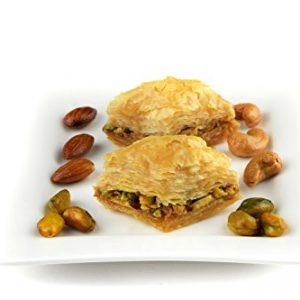500g Baklawa Baklava Pistachio Home Made Recipe Freshly Baked and Shipped UK