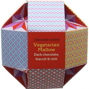 Artisan du Chocolat Vegetarian Mallows/Dark Chocolate/Biscuit and Chili 150 g
