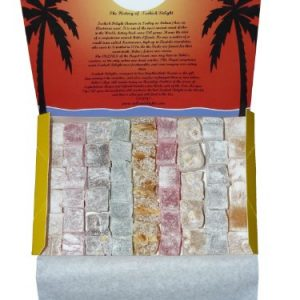 700g Turkish Delight Compendium (10 varieties - 5 of each) Free UK Delivery